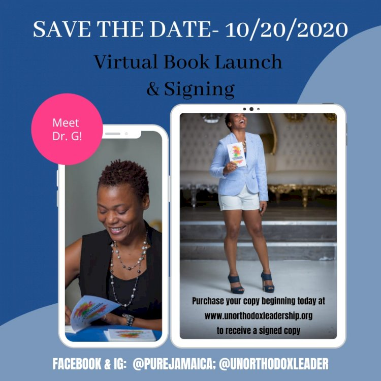 Dr. G Virtual Book Launch & Signing