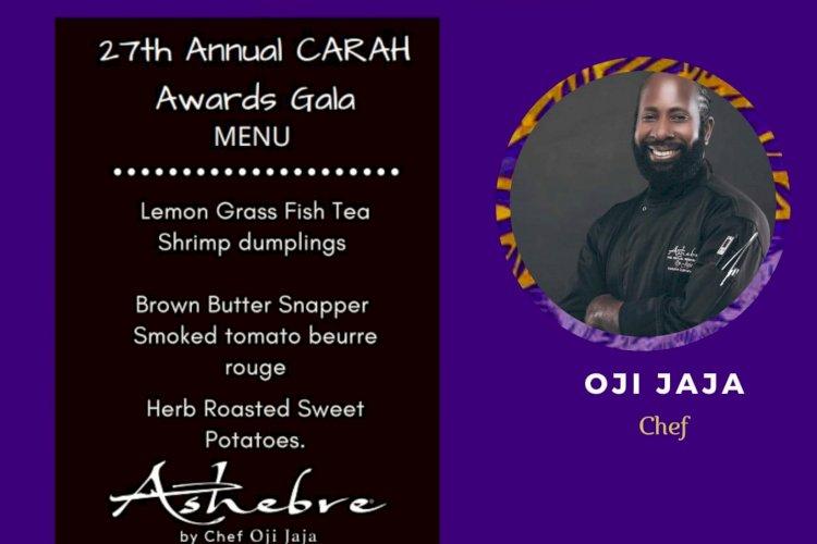 27th Caribbean American Heritage Awards Gala Menu