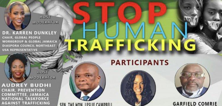 The Global Jamaica Diaspora Council Virtual Presents : Stop Human Trafficking, A Virtual Event