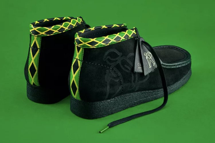 Clarks Men's Jamaica WallaBee Black/Multi