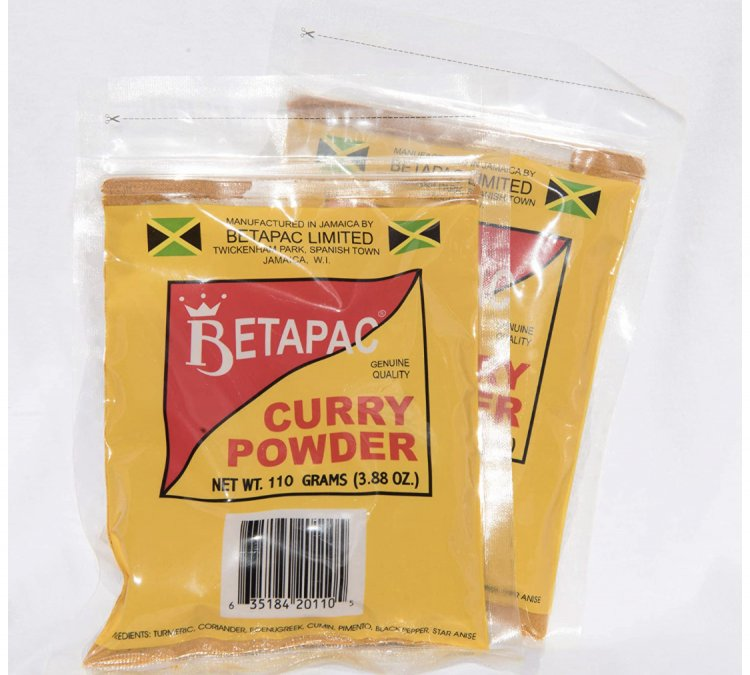 Betapac Curry Powder 3.88 Oz - Pack of 2