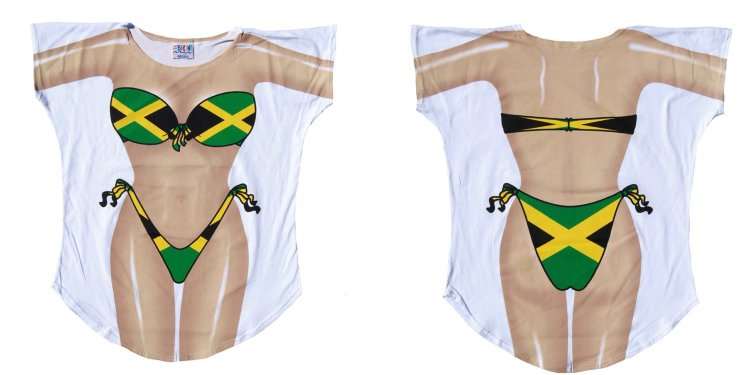 Women's Jamaican Fantasy Swimsuit Cover-up