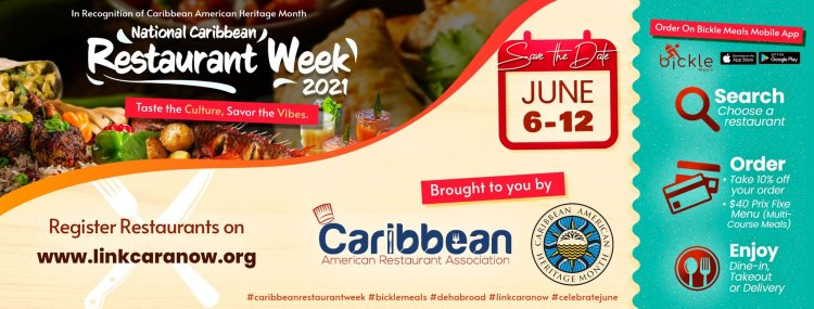 Bickle Meals Invites You To Indulge In The First National Caribbean American Restaurant Week