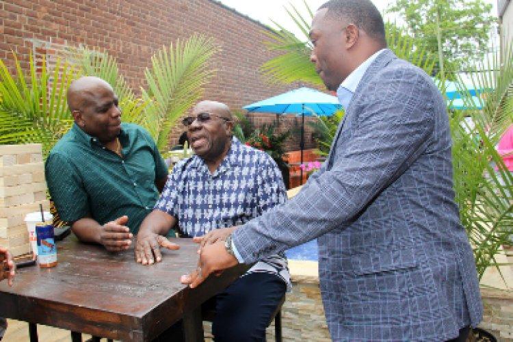 Oliver Samuels Supports  National Caribbean American Restaurant Week