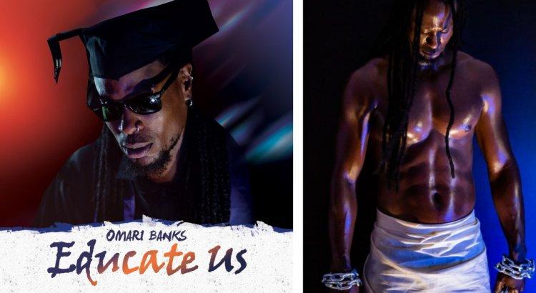 Omari Banks Aspires to Educate Us Through Music