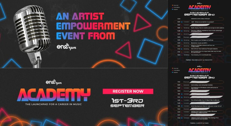 ONErpm (Free) 3 Days Academy: Music Business, Marketing, Digital Strategies, Career Development and more