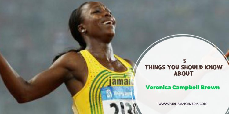 Veronica Campbell Brown - Did You Know Jamaica